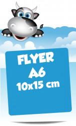 Flyers A6 10x15 cm
