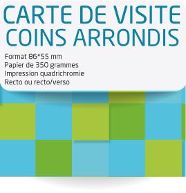 tarifs d 39 impression de cartes de visite avec des coins arrondis. Black Bedroom Furniture Sets. Home Design Ideas
