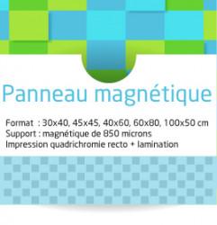 Panneaux magnétiques