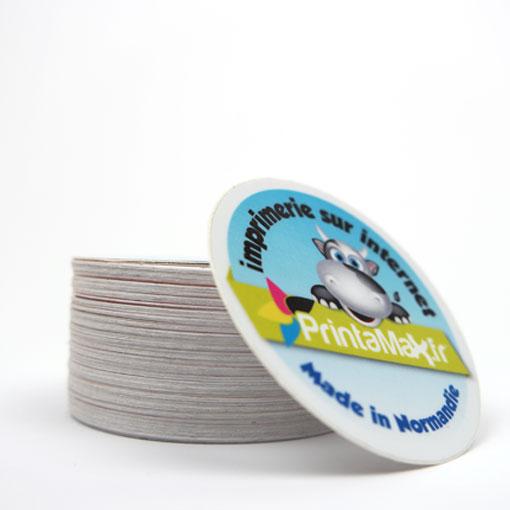autocollant rond ou stickers ronds pas chers