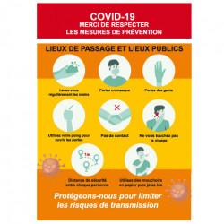 Flyer A5 COVID19 prêt à imprimer