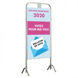 Affiche électorale (petite quantité)