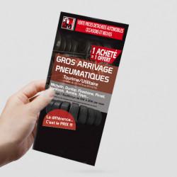 flyer format B6 10x21 cm