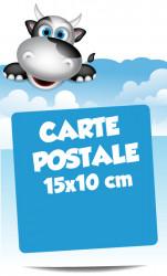 Cartes postales. Livraison express