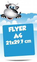 Flyers A4 21x29,7 cm