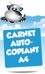 Carnets autocopiants A4