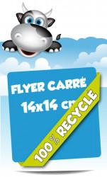 Flyer 14x14 cm