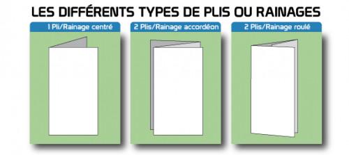 Dépliant format A5 2 ou 3 volets. Impression sur papier recycle.