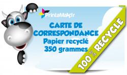 Carte correspondance | Carte voeux | Carte publicitaire