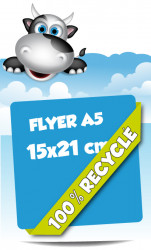 Flyers A5 15x21 cm