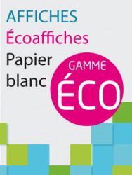 Affiches Papier Blanc