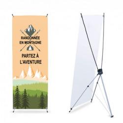 X banner 160x60 cm economique