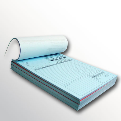 Carnet Autocopiant Personnalise Format A4 Imprime Sur Papier Carbone